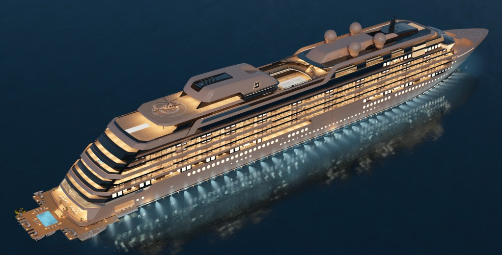 New Order For Meyer Werft: a residential yacht named M/Y Njord with 117 apartments (July 2021)
