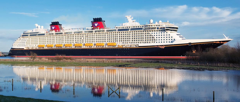 Disney Fantasy Built By Meyer Werft In Papenburg