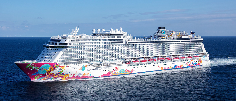 Genting Dream Ocean Liner Meyer Werft