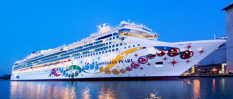 Norwegian Pearl Built By Meyer Werft In Papenburg